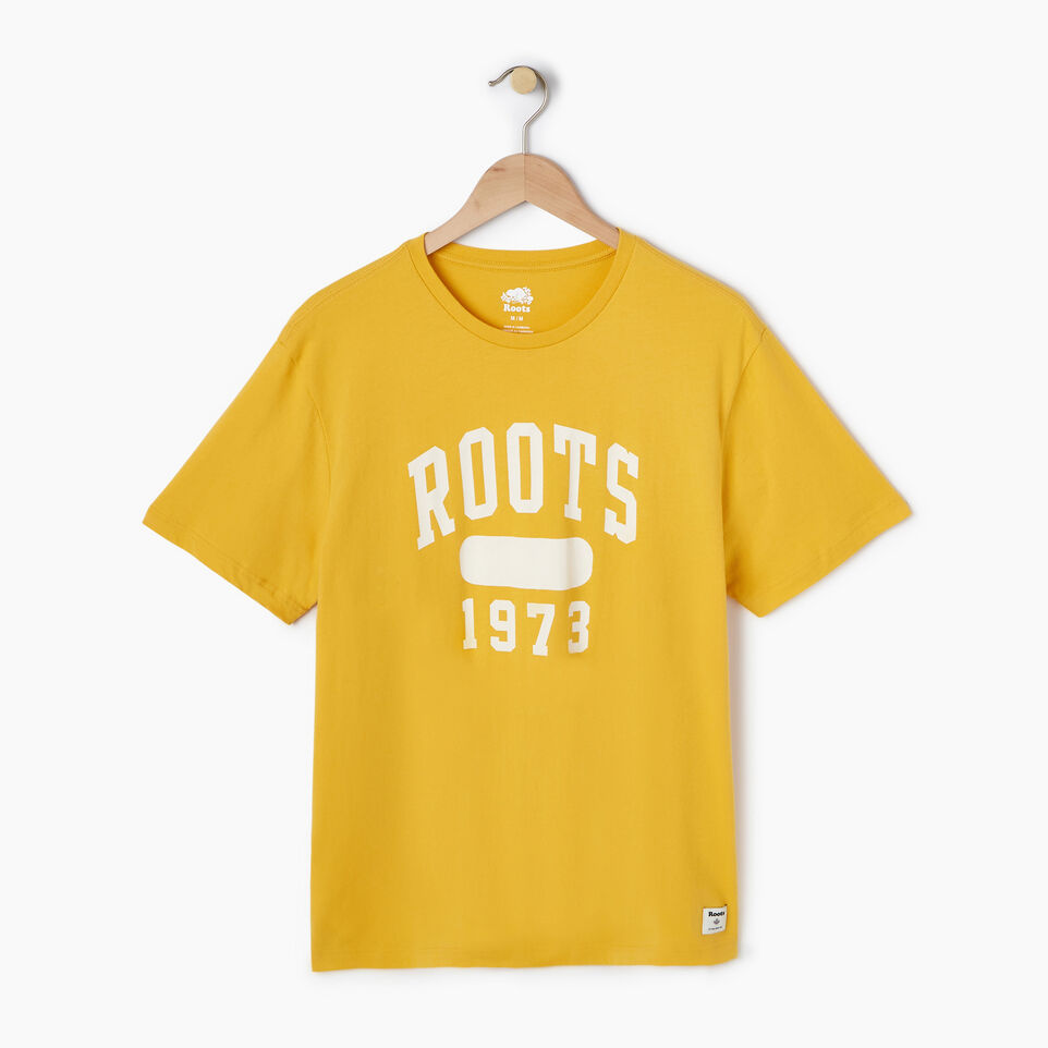 Roots-Men Our Favourite New Arrivals-Mens Block 1973 Canada T-shirt-Medallion-A