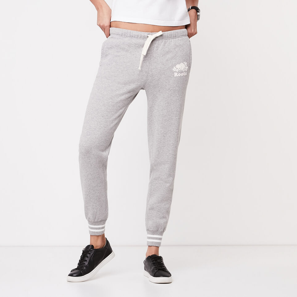 Roots-undefined-Slim Cuff Varsity Sweatpant-undefined-A