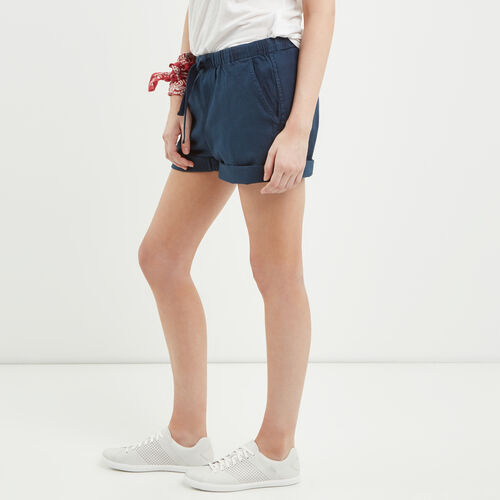 Roots-Women Shorts & Skirts-Woodland Short-Cascade Blue-A