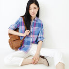 Roots-undefined-Relaxed Plaid Shirt-undefined-B