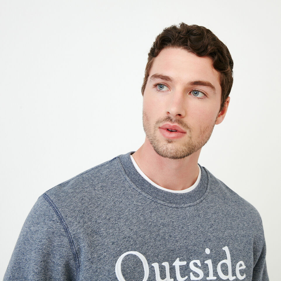 Roots-undefined-Quotes Crew Sweatshirt-undefined-E