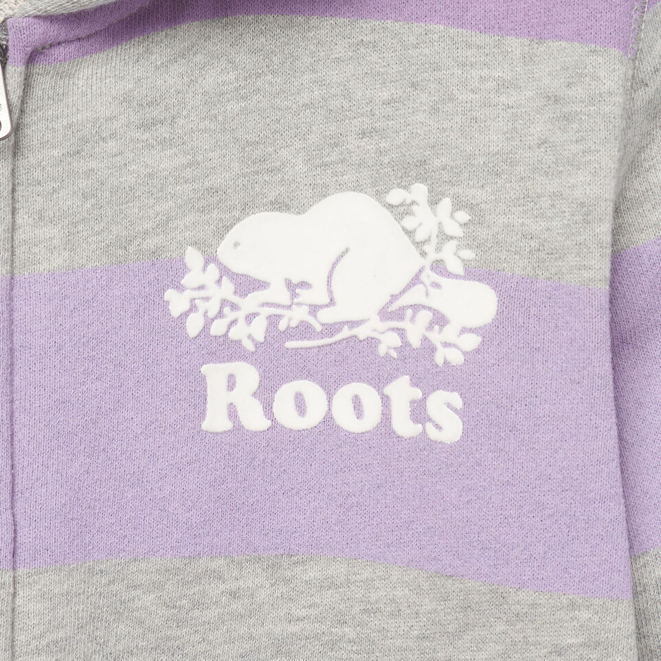 Roots-Kids Our Favourite New Arrivals-Girls Ombre Stripe Full Zip Hoody-Grey Mix-D