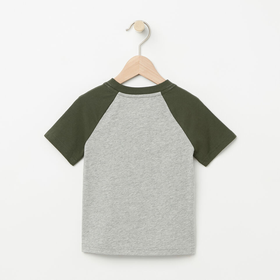 Roots-undefined-Toddler Glow In The Dark Raglan Top-undefined-B