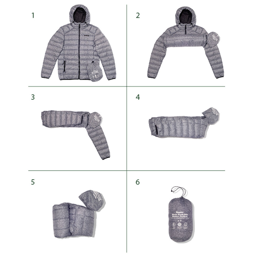 Roots-undefined-Roots Packable Down Jacket-undefined-F