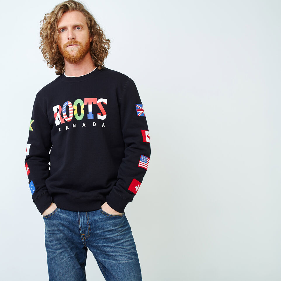 Roots-undefined-Roots Unity Crew Sweatshirt-undefined-A