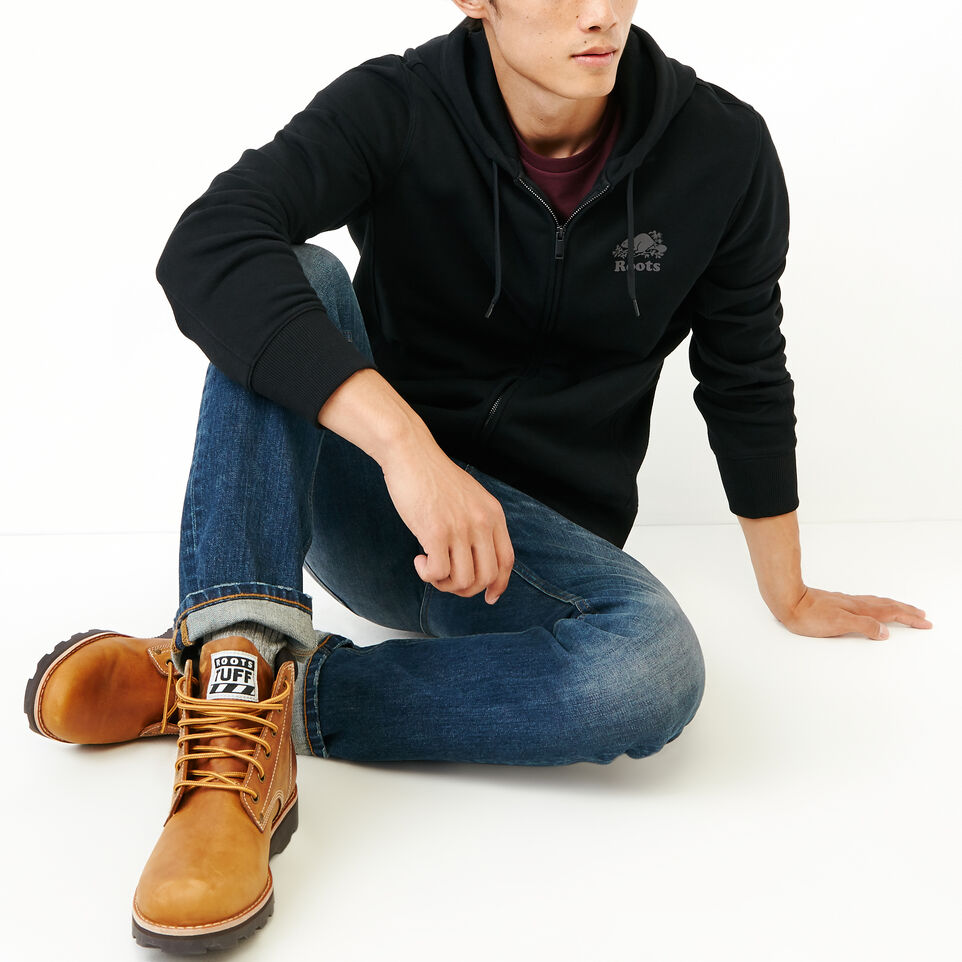 Roots-Men New Arrivals-Roots Breathe Zip Hoody-Black-B