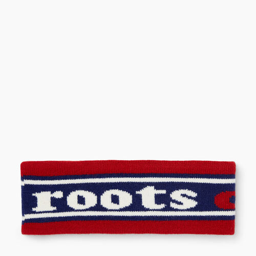 Roots-Winter Sale Boys-Kids Roots Ski Band-Blue Depths-A
