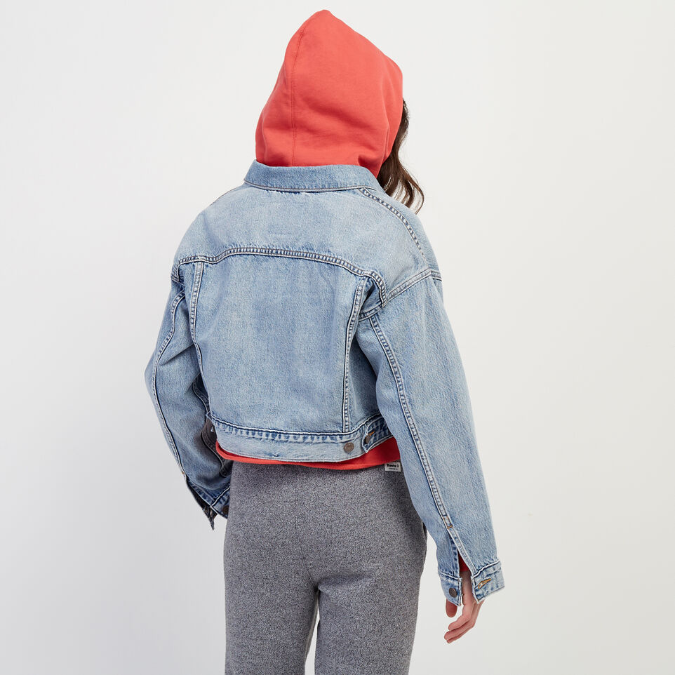 Roots-undefined-Levi's Crop Dad Trucker Jacket-undefined-D