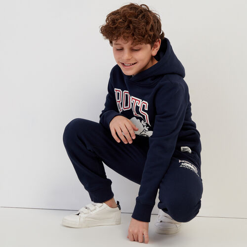 Roots-Sale Kids-Boys RBA Hoody-Navy Blazer-A