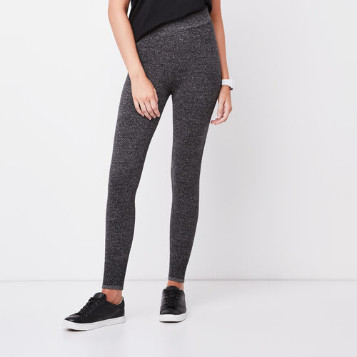Roots-Sale Bottoms-Chalet Legging-Black Mix-A