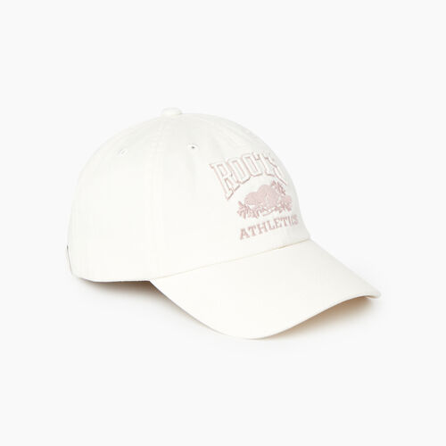 Roots-New For February Rba Collection-Heritage RBA Baseball Cap-Egret-A