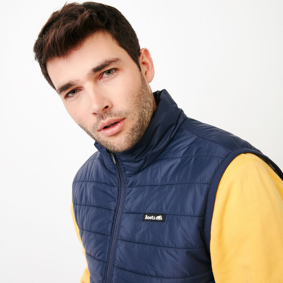 Roots-Men Categories-Roots Hybrid Vest-Navy Blazer-E