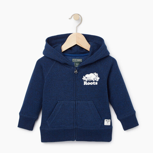 Roots-Kids Our Favourite New Arrivals-Baby Original Full Zip Hoody-Active Blue Pepper-A