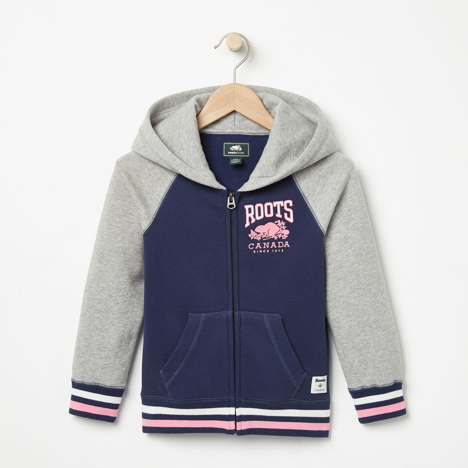 Roots-Girls RBC Varsity Full Zip Hoody
