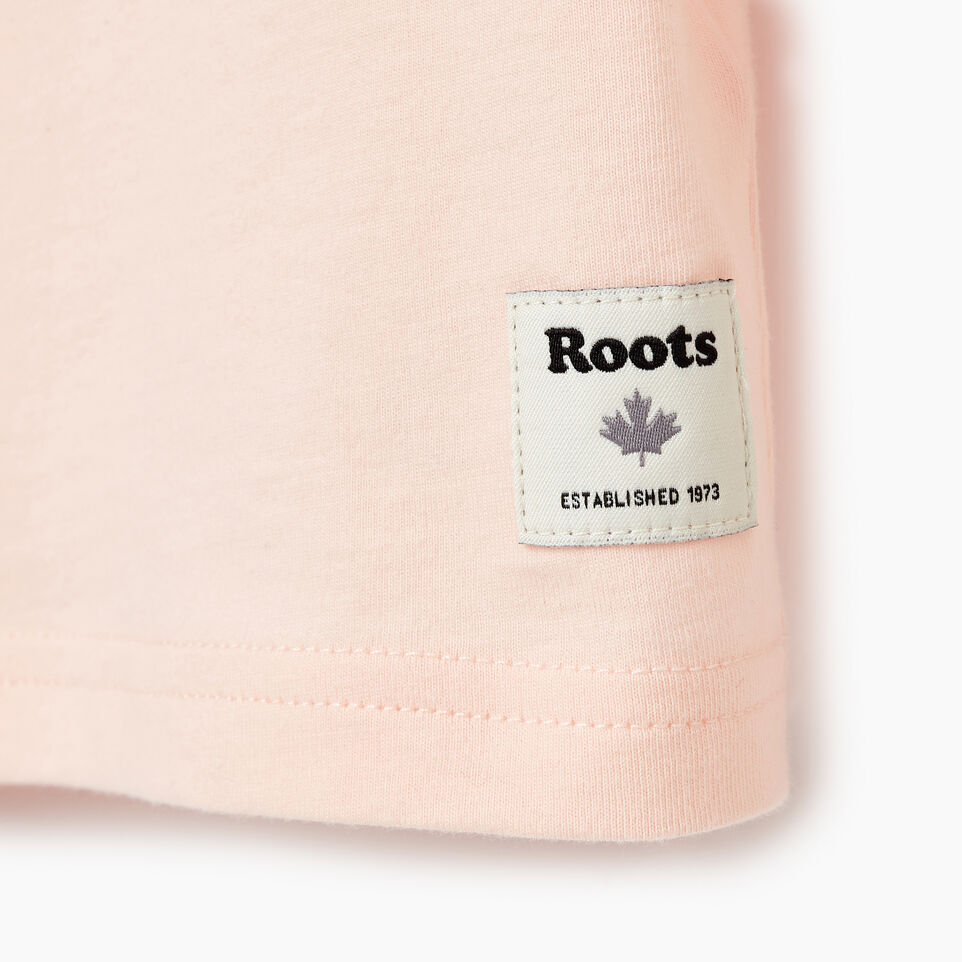 Roots-Kids Our Favourite New Arrivals-Girls Original Cooper Beaver T-shirt-English Rose-C