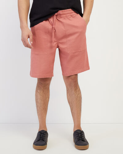 Roots-Shorts Men-Journey Short 9.5 In-Brick Dust-A