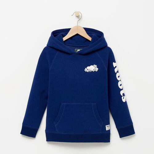 Roots-Winter Sale Boys-Boys Roots Remix Hoody-Blue Depths-A