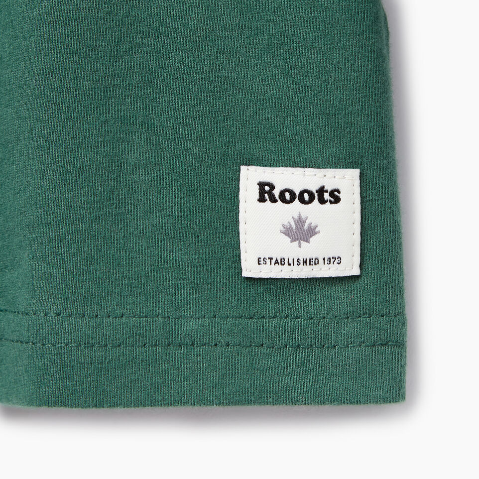 Roots-Kids New Arrivals-Toddler Paddle On T-shirt-Hunter Green-C