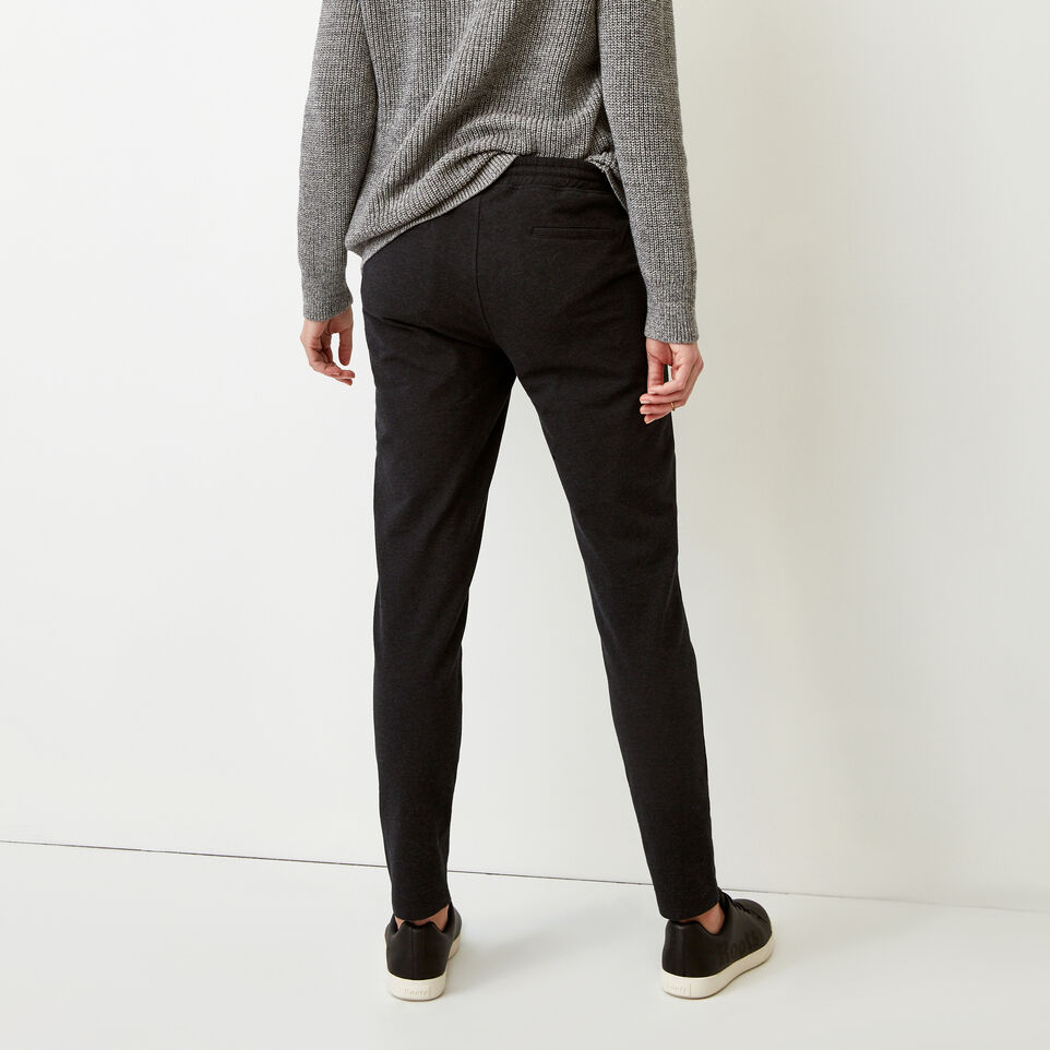 Roots-Women Our Favourite New Arrivals-Kelby Jogger-Black Mix-D