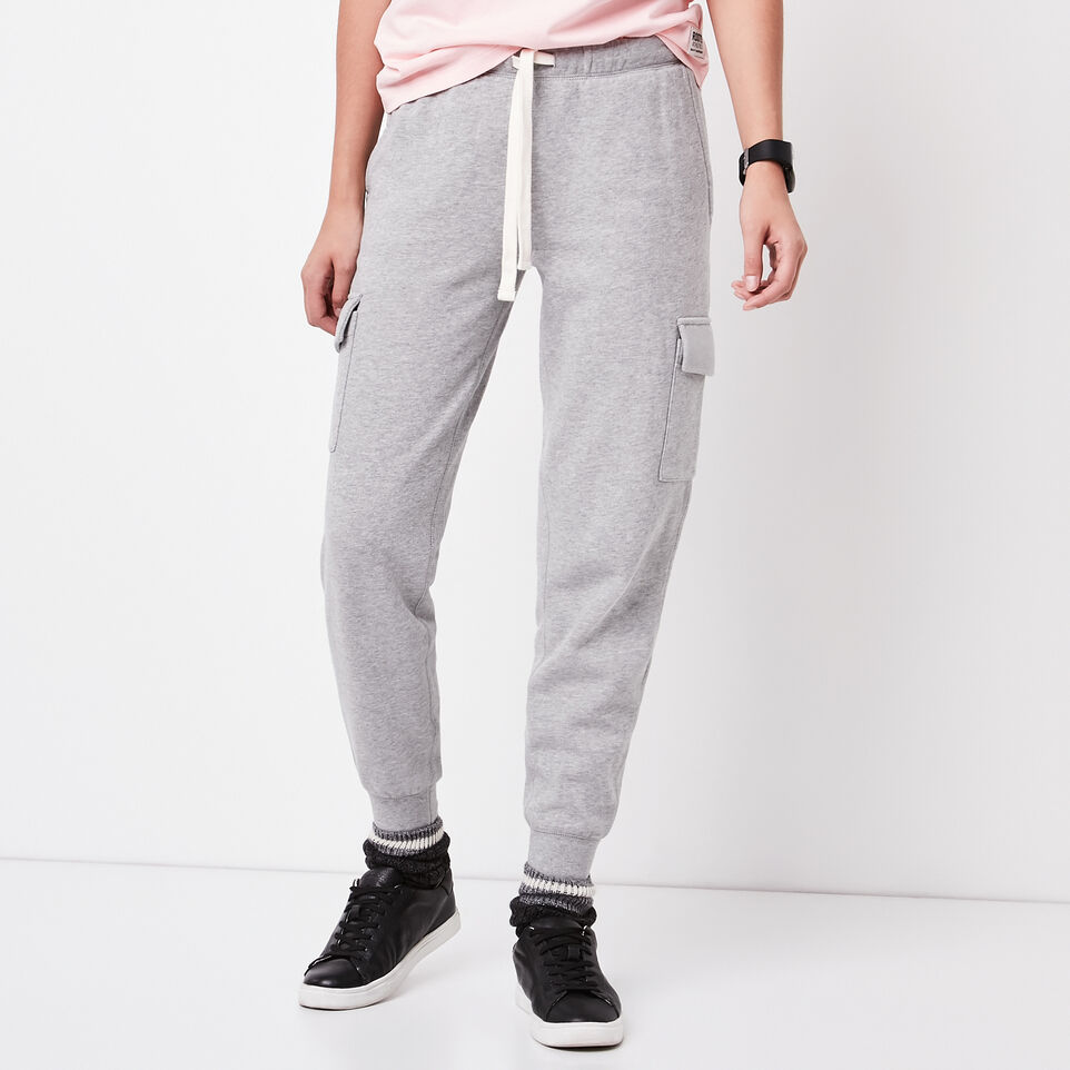 Roots-undefined-Slim Cargo Sweatpant-undefined-A