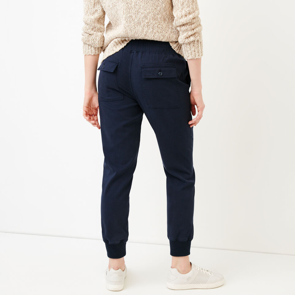 Roots-Women Categories-Essential Jogger-Navy Blazer-D