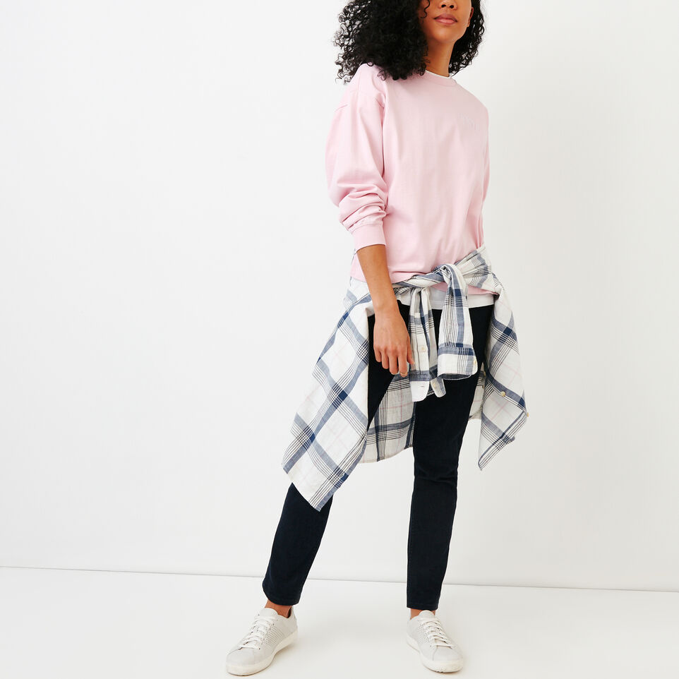 Roots-Women Our Favourite New Arrivals-Brookley Top-Pink Mist-B