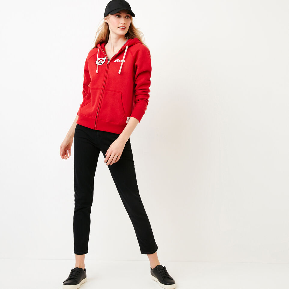 Roots-undefined-Womens Canada Full Zip Hoody-undefined-B