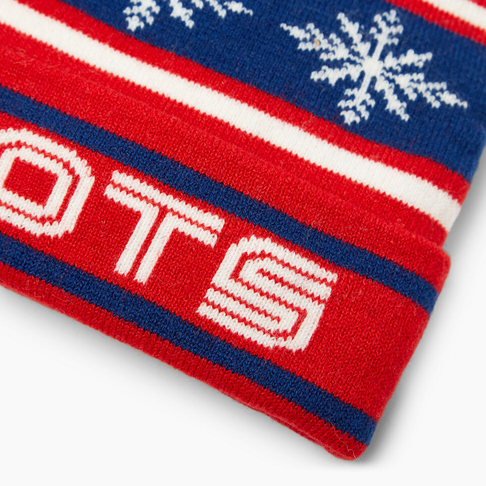 Roots-Kids Our Favourite New Arrivals-Toddler Retro Fair Isle Toque-Racing Red-D