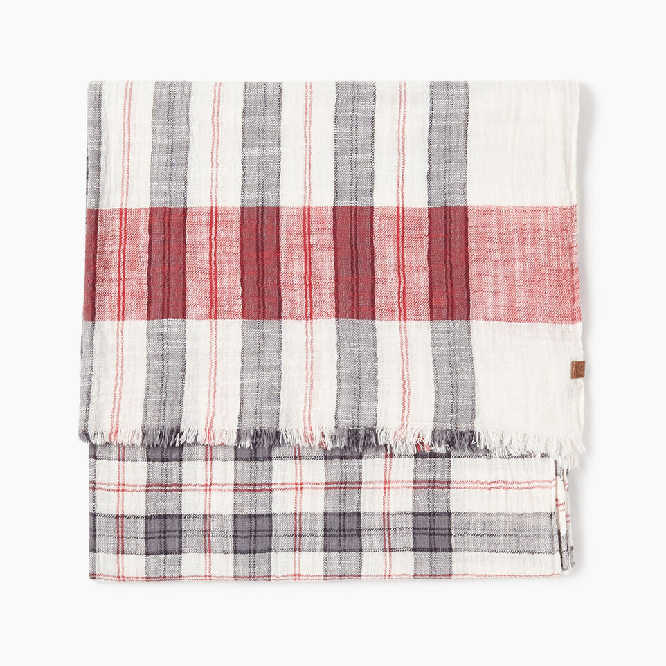 Roots-undefined-Smoke Lake Plaid Scarf-undefined-B