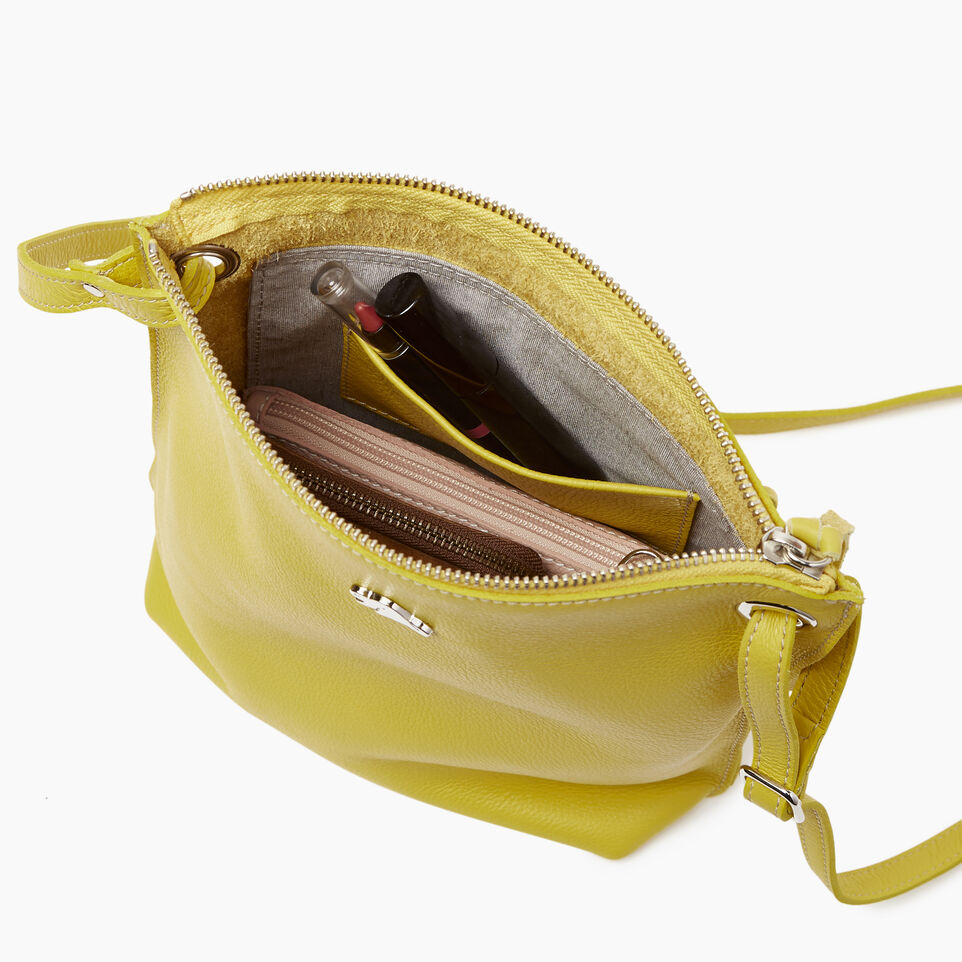 Roots-Leather  Handcrafted By Us Categories-Festival Bag-Yellow-D