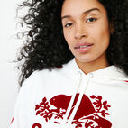 Roots-Women Canada Collection By Roots™-Canada Kanga Hoody-Ivory-E