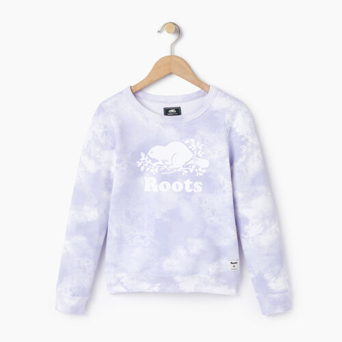 Roots-Kids Our Favourite New Arrivals-Girls Cloud Nine Sweatshirt-Thistle-A