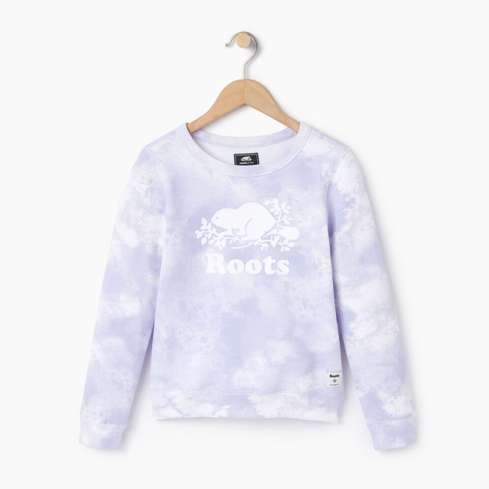Roots-undefined-Girls Cloud Nine Sweatshirt-undefined-A
