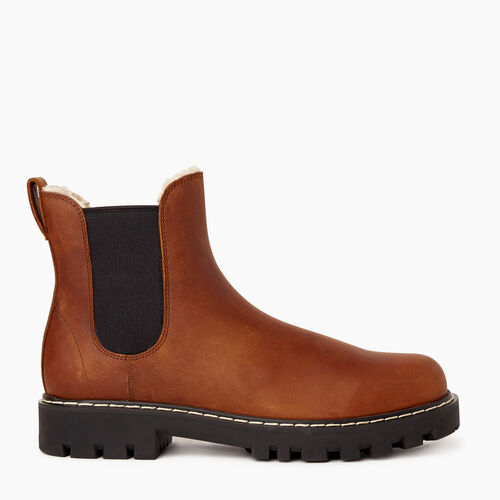 Roots-Women Categories-Womens Tobermory Chelsea Boot-Natural-A