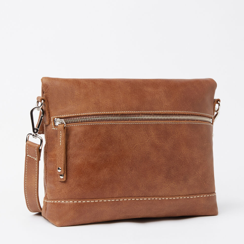 Roots-Women Leather-Emma Bag Tribe-Natural-C