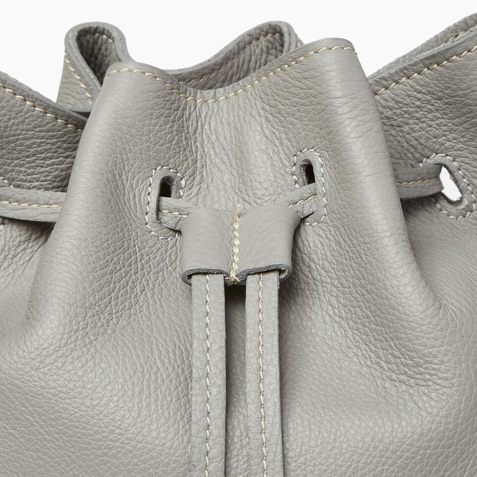 Roots-Leather  Handcrafted By Us Our Favourite New Arrivals-Sherbrooke Bucket-Silverstone-E