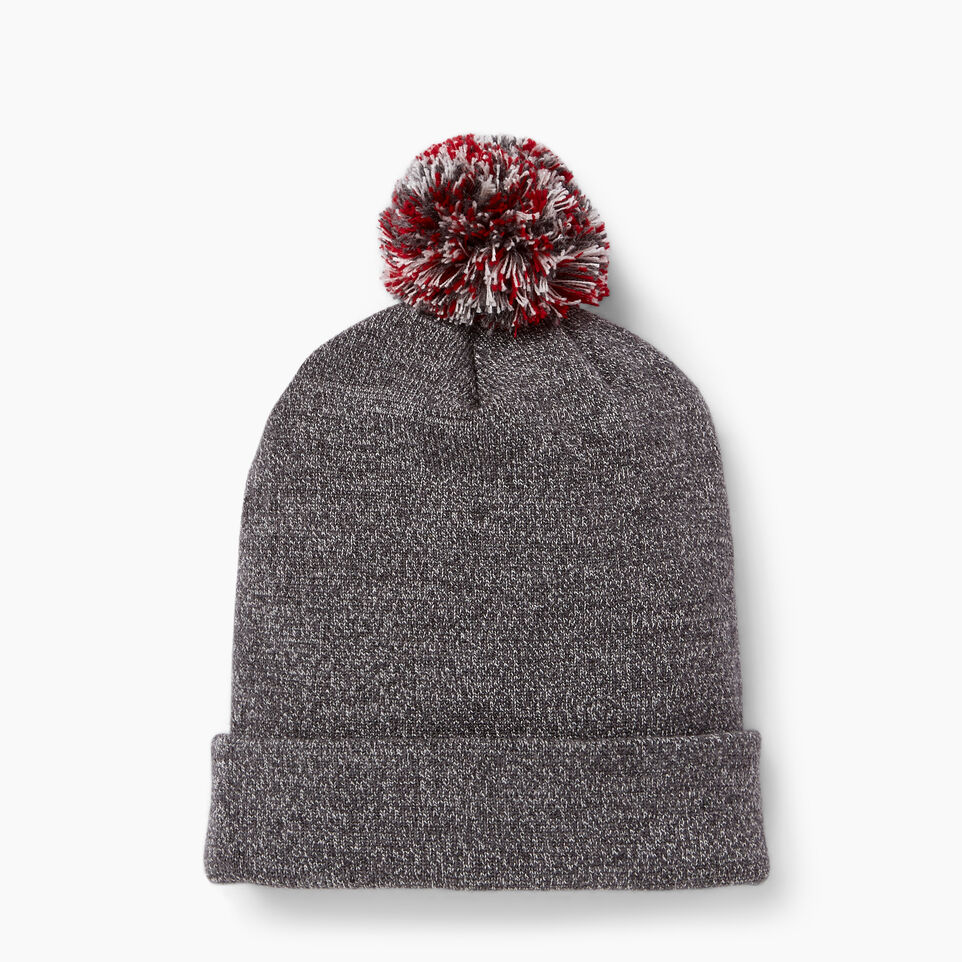 Roots-New For June Canada Collection By Roots™-Canada Pom Pom Toque-Salt & Pepper-C