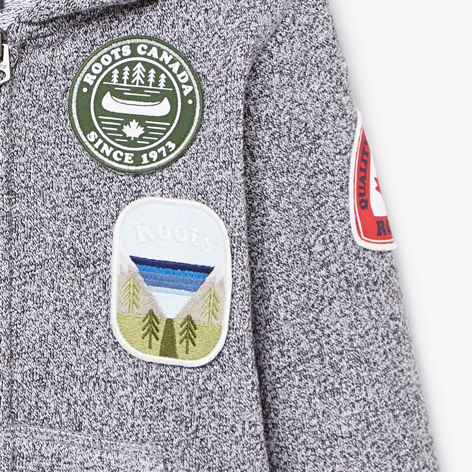Roots-undefined-Toddler Patches Full Zip Hoody-undefined-D
