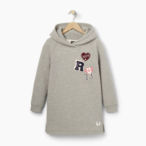 Roots-Kids Our Favourite New Arrivals-Girls Roots Patches Dress-Grey Mix-A