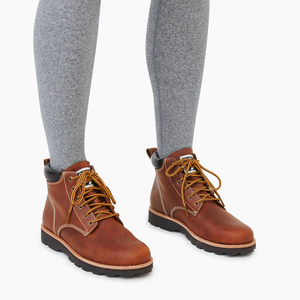 Roots-Women Clothing-Womens Tuff Boot-Natural-B