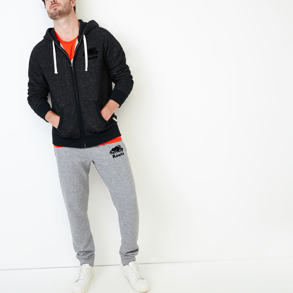 Roots-Men Sweats-Roots Salt and Pepper Park Slim Sweatpant-Salt & Pepper-B