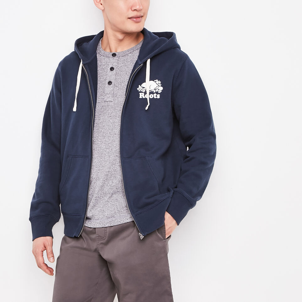 Roots-Original Terry Zip Hoody