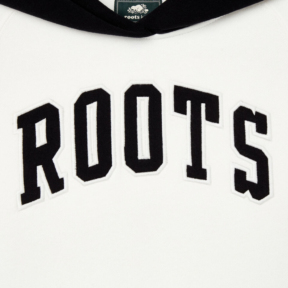 Roots-Kids Our Favourite New Arrivals-Girls 2.0 Colour block Raglan Hoody-Ivory-D