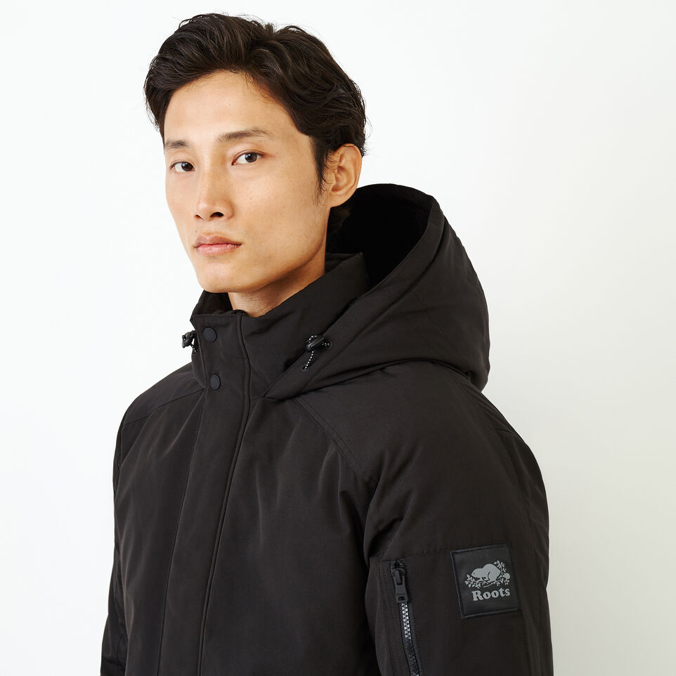 Roots-Men Our Favourite New Arrivals-Tobermory Down Jacket-Black-E