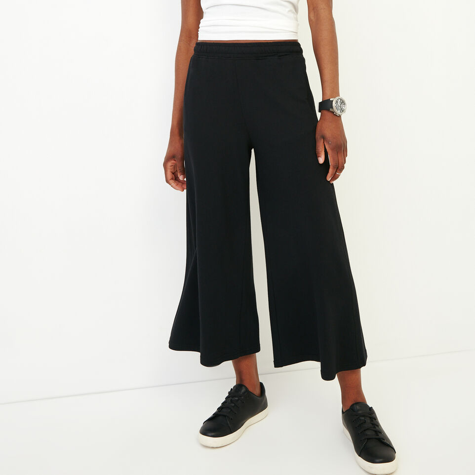 Roots-Women Our Favourite New Arrivals-Summerside Culotte-Black-A
