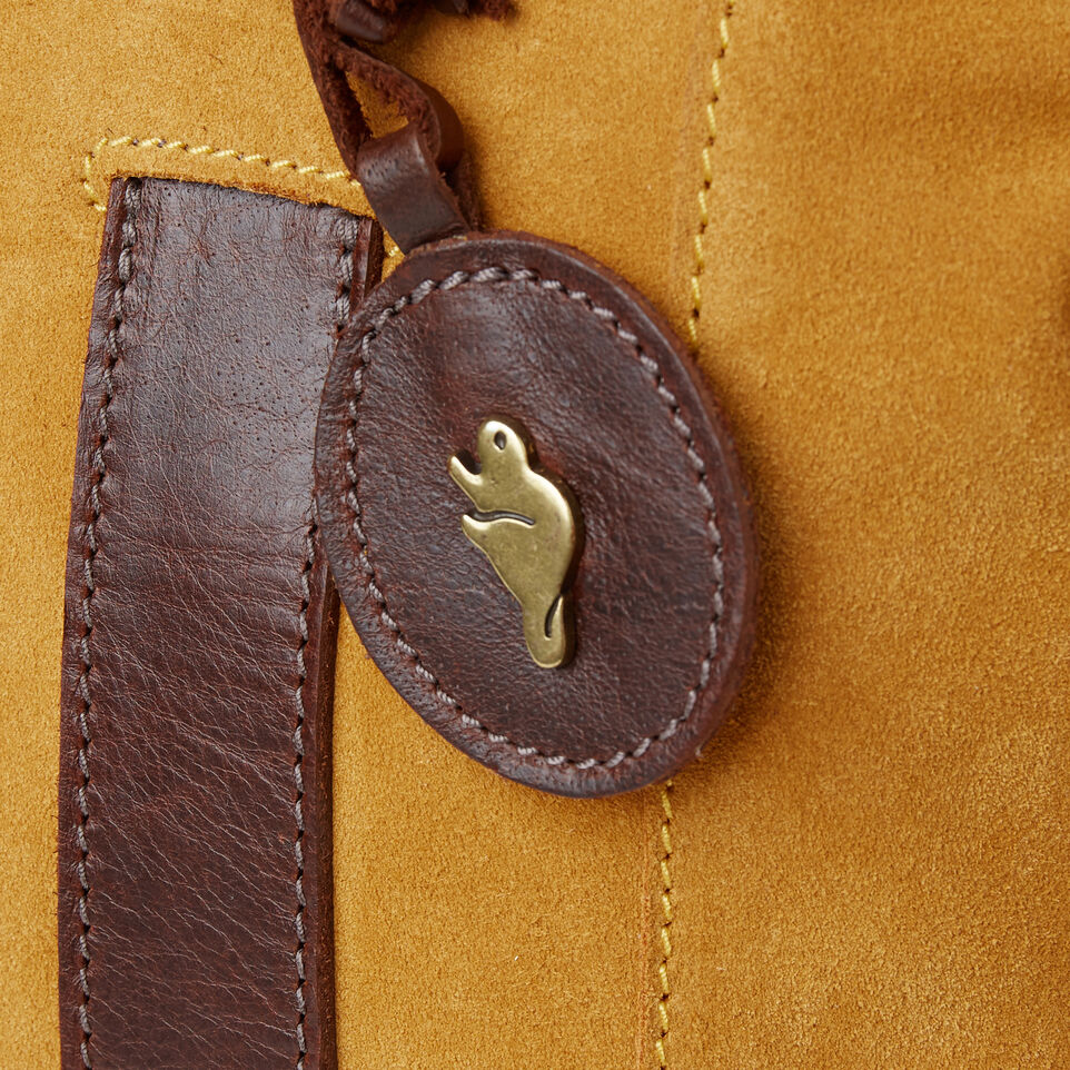 Roots-Leather  Handcrafted By Us Our Favourite New Arrivals-Victoria Tote Suede-Squash Yellow-E