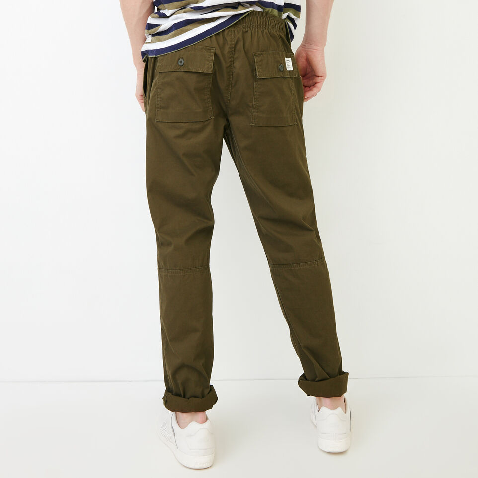 Roots-Men Our Favourite New Arrivals-Easy Utility Pant-Fatigue-D