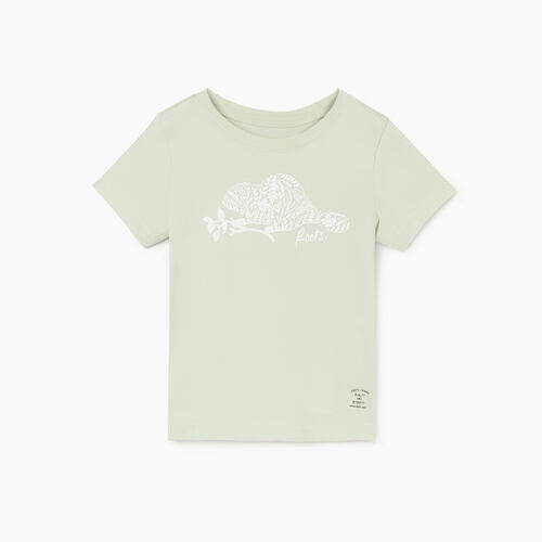 Roots-Kids New Arrivals-Toddler Woodland Animal T-shirt-Sea Foam-A