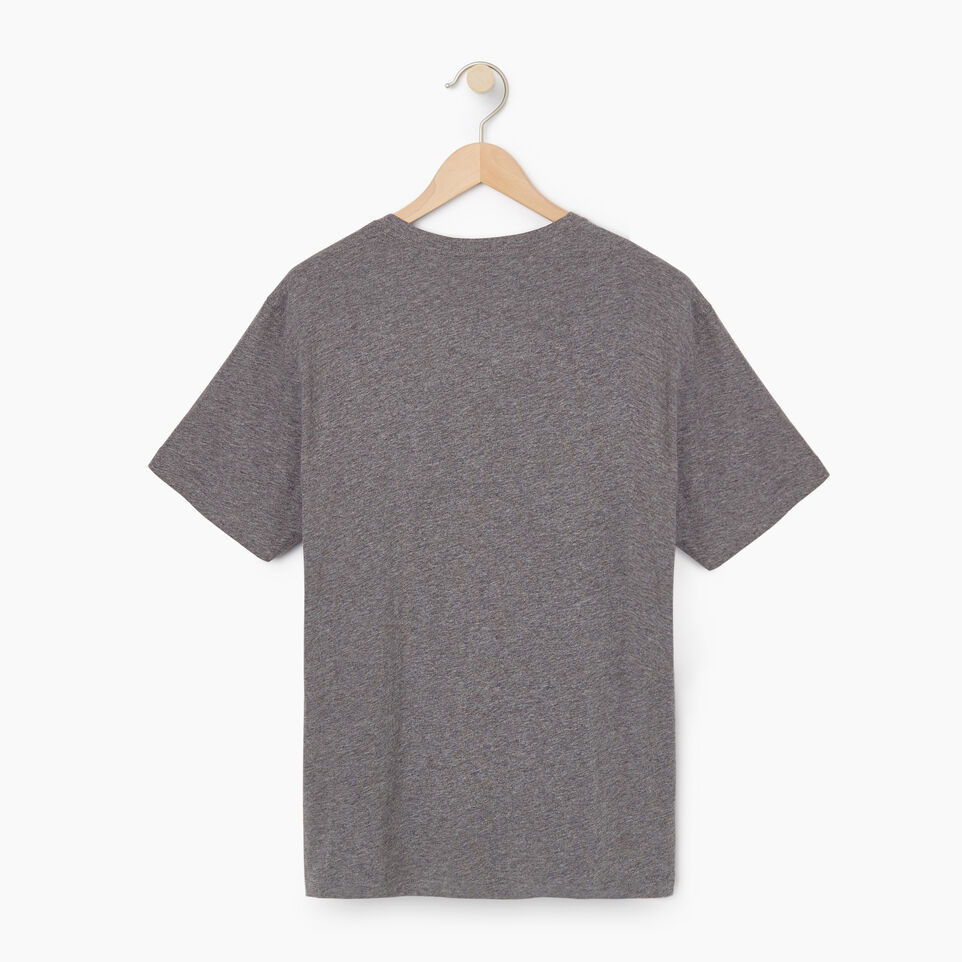 Roots-New For July Men-Mens Springdale T-shirt-Med Grey Mix-B