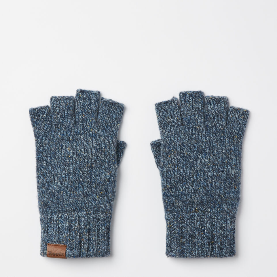 Roots-undefined-Mens Donegal Fingerless Glove-undefined-B
